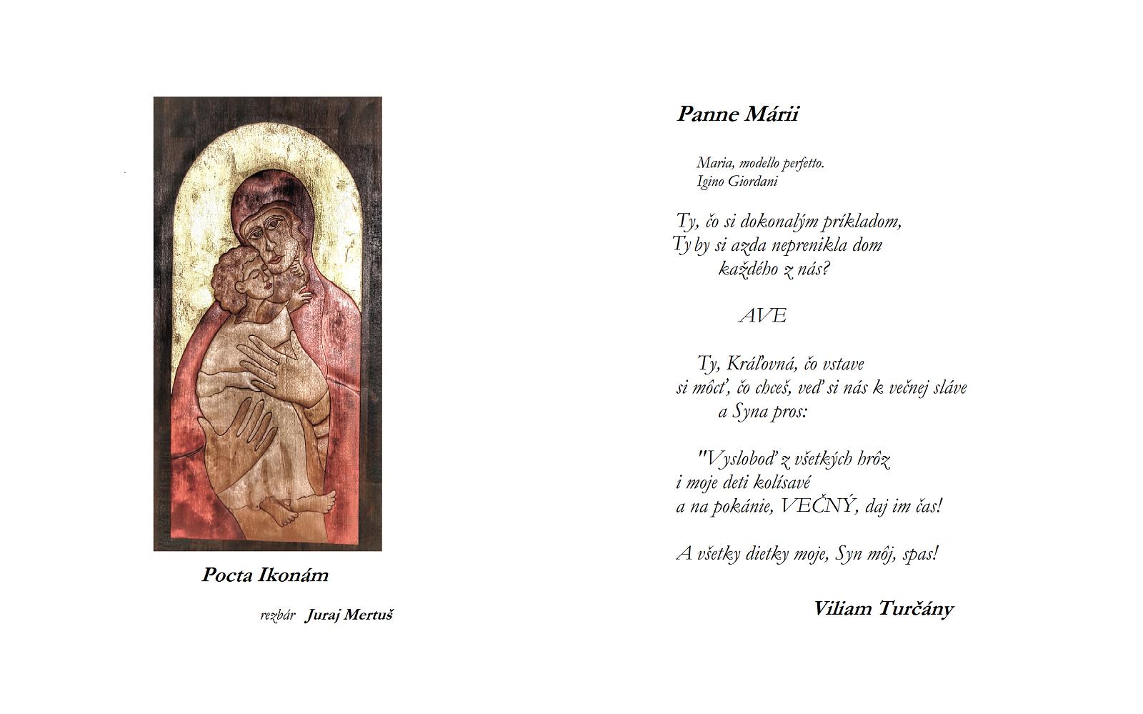 19522ba12bb6 Pocta ikonám Panne Márii